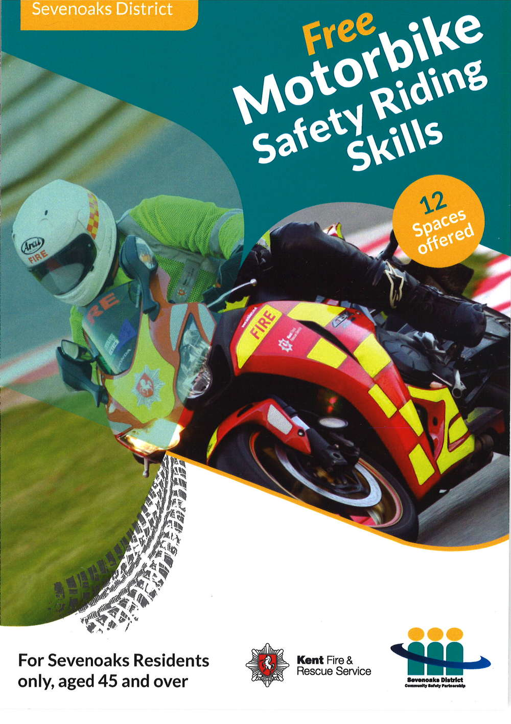 Free motorcycle training for the over 45's......