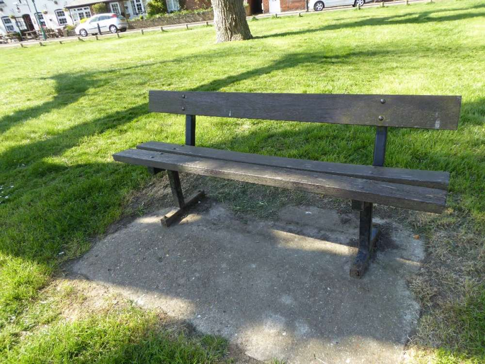 Chipstead Green - bench 1 of 6.JPG
