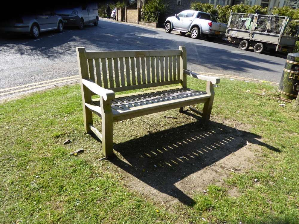 New Bench Bessels Green.JPG